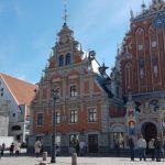 Ohne Familie und dafür mit Freundin in Riga unterwegs