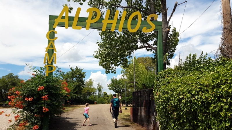 Mit dem Wohnmobil zum Camping Alphios in Olympia, Peleponnes