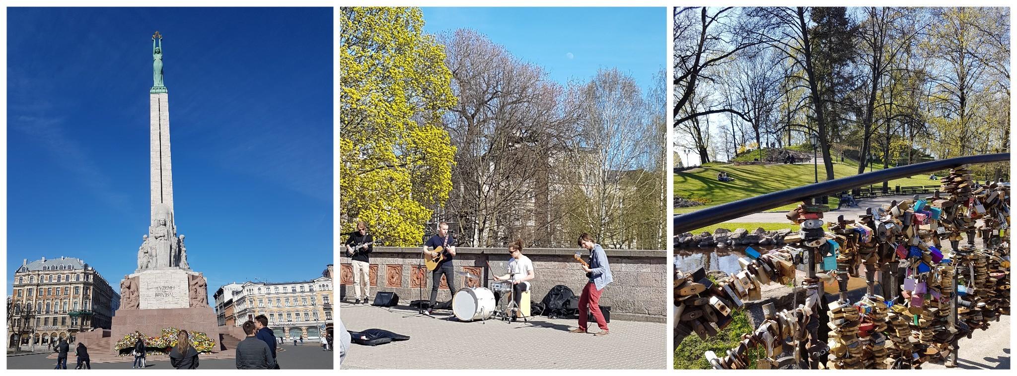 Freiheitsdenkmal und Park in Riga