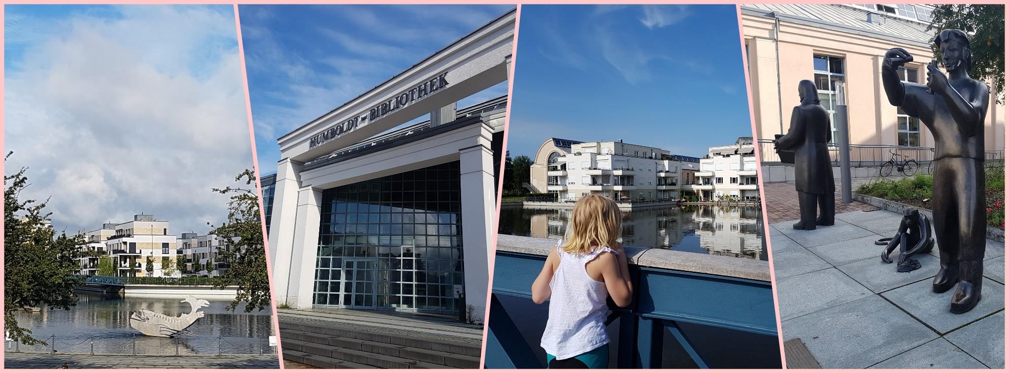 Radtour mit Kindern zur Humboldt-Bibliothek und Tegeler Insel