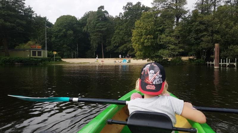 Kajakfahren auf der Havel