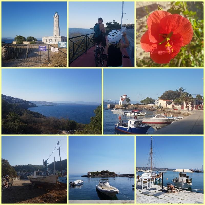 Mit dem Fahrrad zur Hafenstadt Gythion und zur Halbinsel Marathonissi