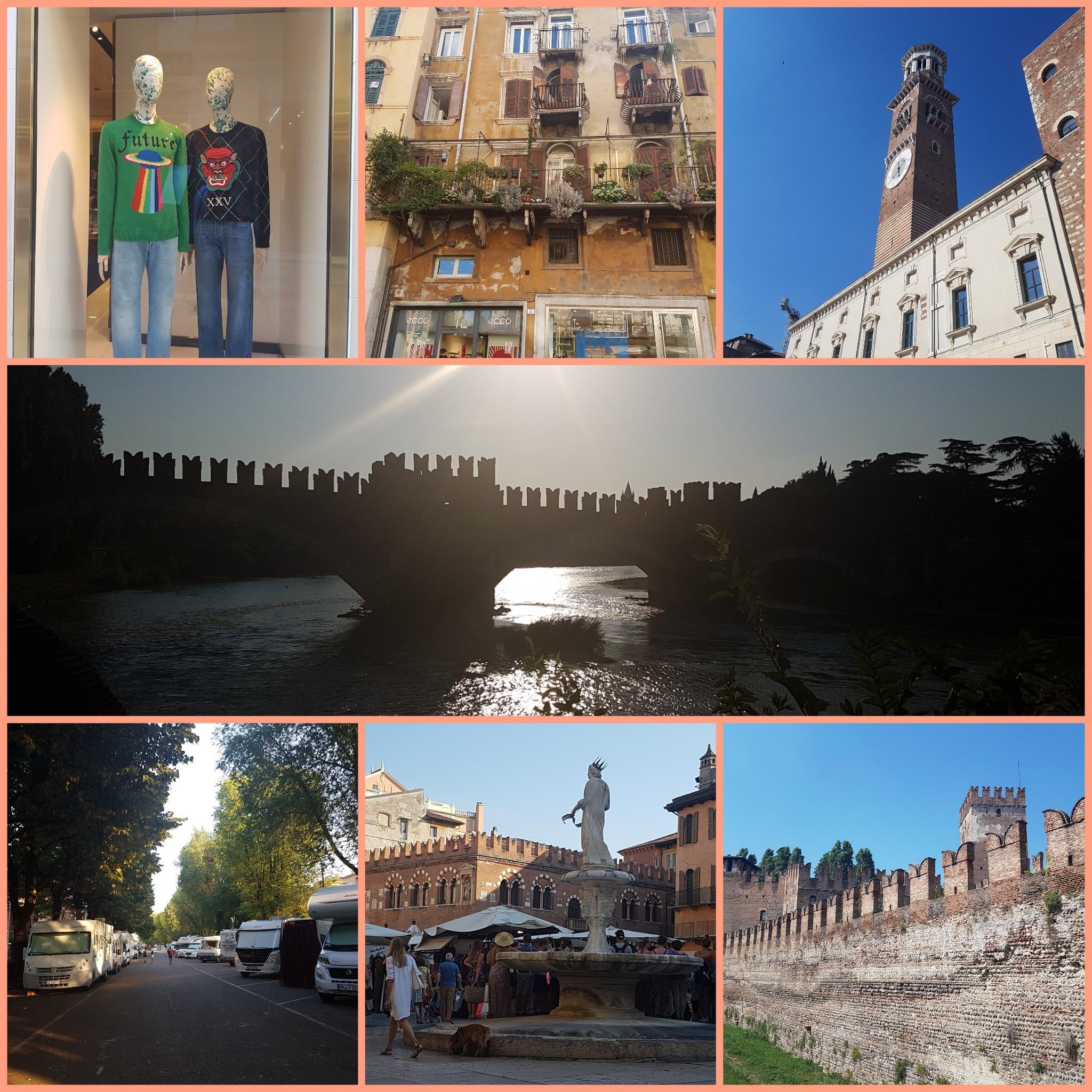 Mit dem Wohnmobil nach Verona, Italien
