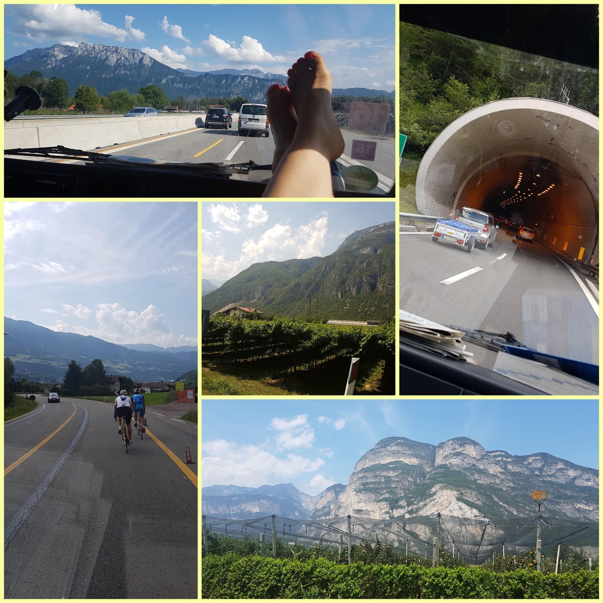 Über den Brenner nach Italien und dann weiter nach Griechenland