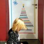 Weihnachtsbaum aus Masking Tapes gestalten