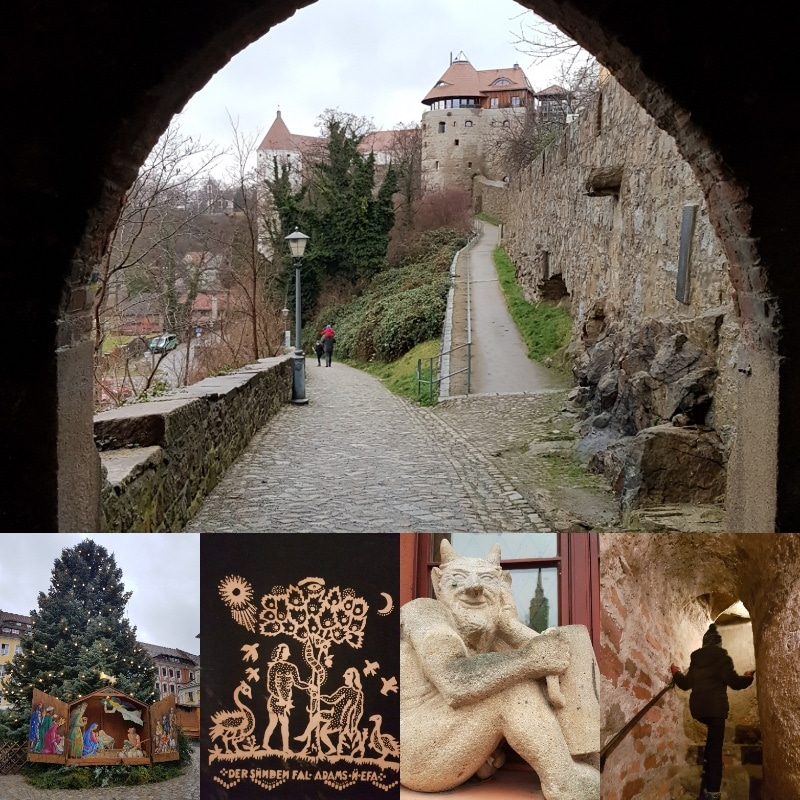 Bautzen, Alte Wasserkunst, Gaststätte Mönchshof, Ferien mit Kindern in der Oberlausitz, Sachsen