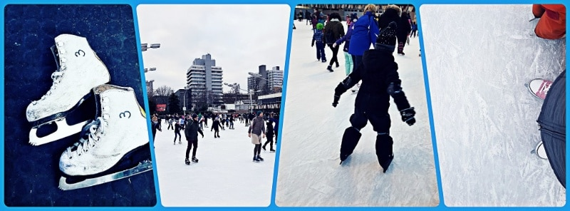 Eislaufen Schlittschuhlaufen Wintersport Berlin Winterferien Kinder Ausflüge