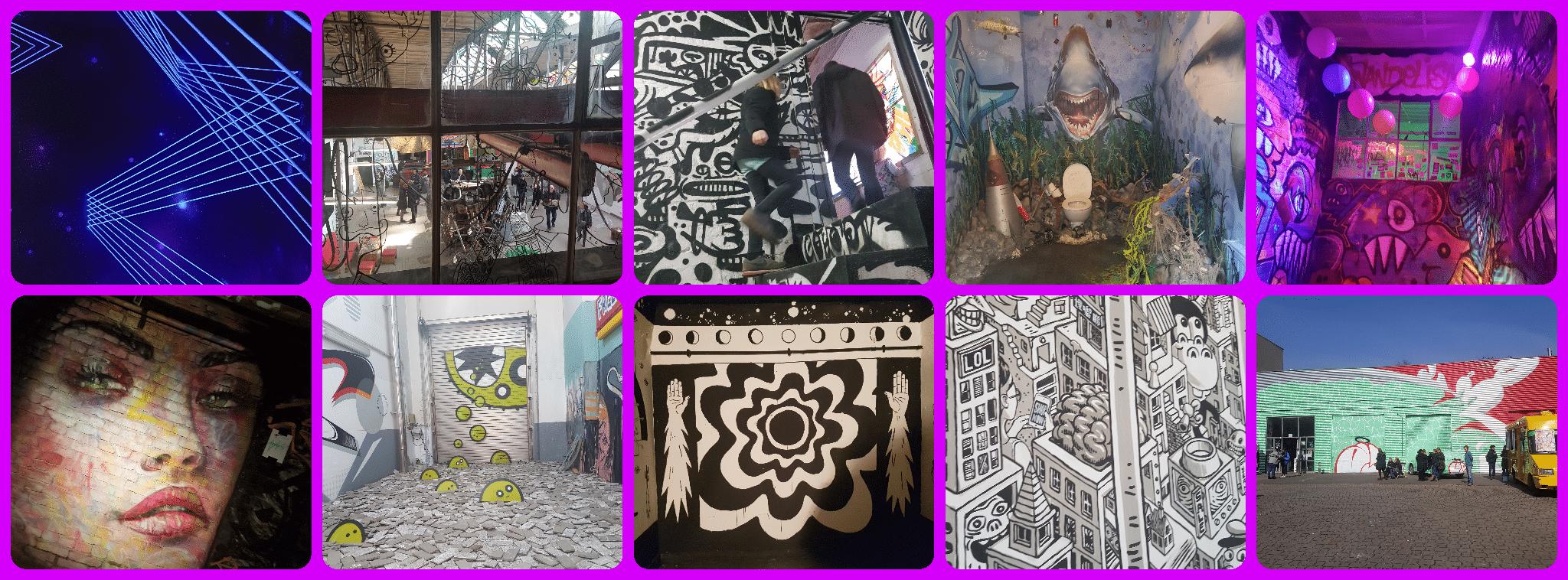 Street Art Ausstellung Wandelism in Berlin Wilmersdorf