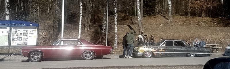 Raggare Oldtimer Autos Schweden urlaub Reisen