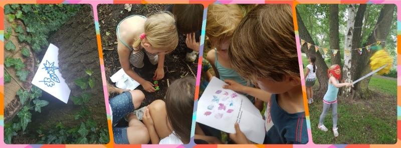 Kindergeburtstag, Spiele für draußen, Sommer