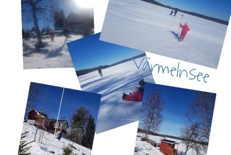 Skandinavien, Schweden, Värmland, Värmelnsee, Reisen mit Kindern, Schneewandern, Familienurlaub