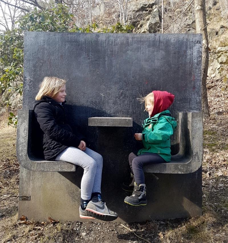 Schneewandern in Schweden Familienurlaub Reisen mit Kindern Göteborg
