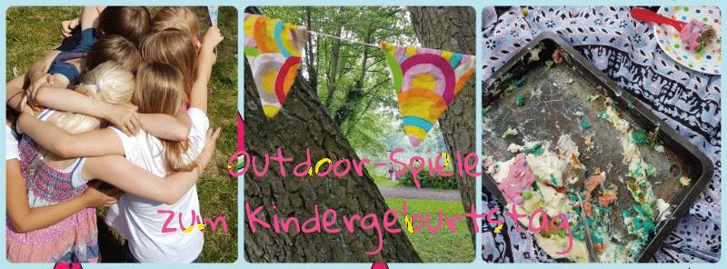 Kindergeburtstag Spielideen für draussen outdoor spiele kinder