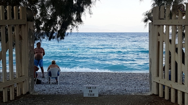 Akrata Beach, Peleponnes, Griechenland, Golf von Korinth, Campingplatz, Campen, Camping, Wohnmobil, Sommerurlaub, Urlaub, Reisen mit Kindern, Strand