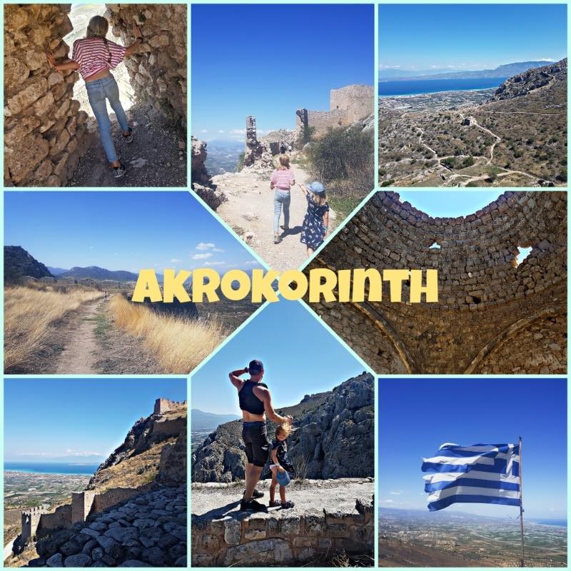 akrokorinth, peleponnes, griechenland, festung