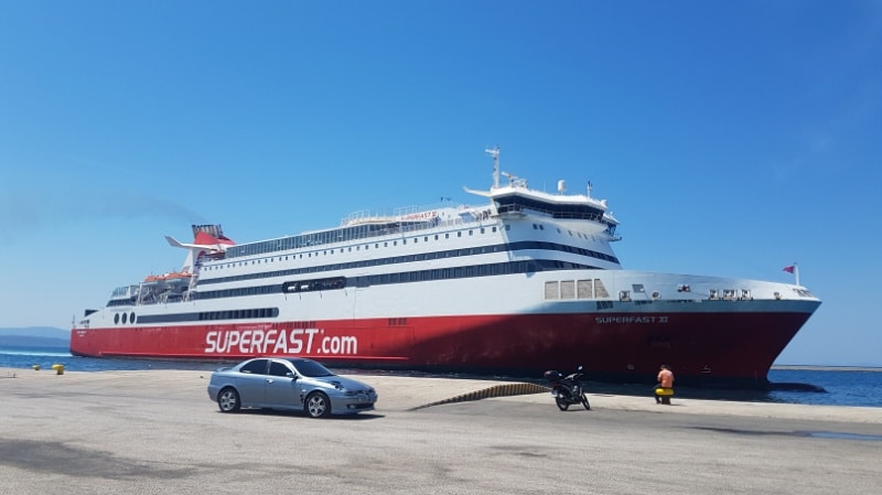 Fährfahrt, Fähre, Ferry, ferries, Superfast Ferries, Patras, Ancona, Griechenland, Camping on bord, Urlaub, Adria, Reisen mit kindern