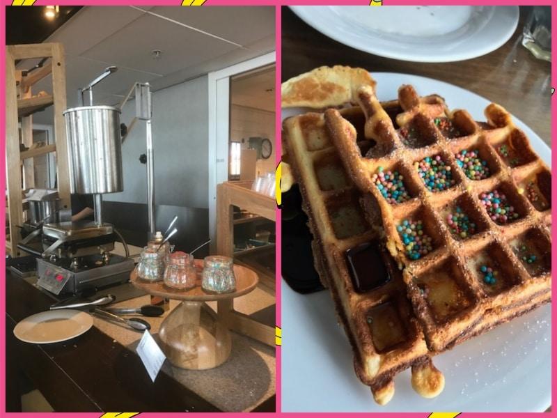 Hotel Ramada, Frühstück, reisen mit Kindern, Amerstam, Niederlande, Holland