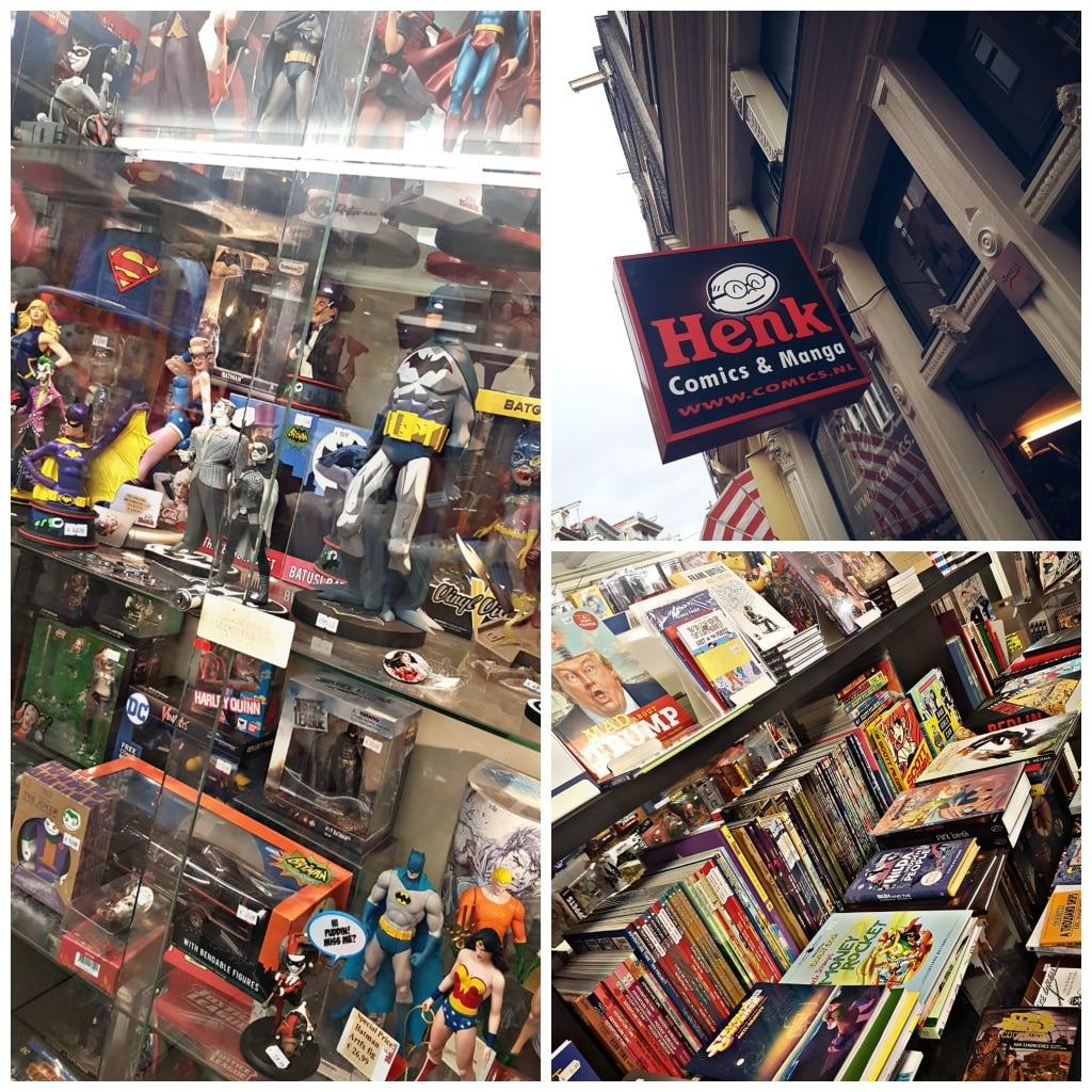 Amsterdam, Netherlands, Holland, Zeedijk, Chinatown, Comicladen, Comics, Henk, Marvel, Reisen mit Kindern