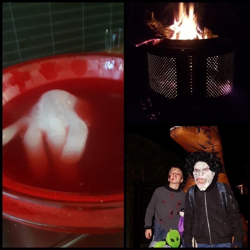 Halloween, Bowle, gruselig, Bowle für Kinder, Getränke,