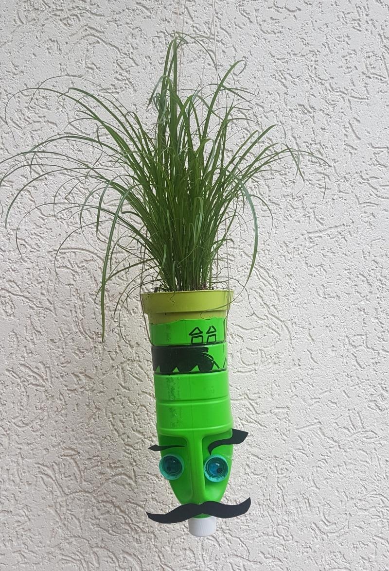 Hängepflanzentopf, Basten mit kindern, DIY, Do it yourself, selber machen, selbst machen, geschenk, geschene selber machen, kinder