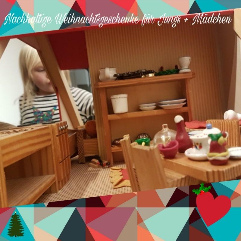 Weihnachten, Geschenke, schenken, Spielzeug, toys, Spielsachen, spielen, Geschenke für Kinder, Weihnachtsgeschenke für Kinder, Holzspielzeug, Nachhaltigkeit, nachhaltig, Puppenhaus