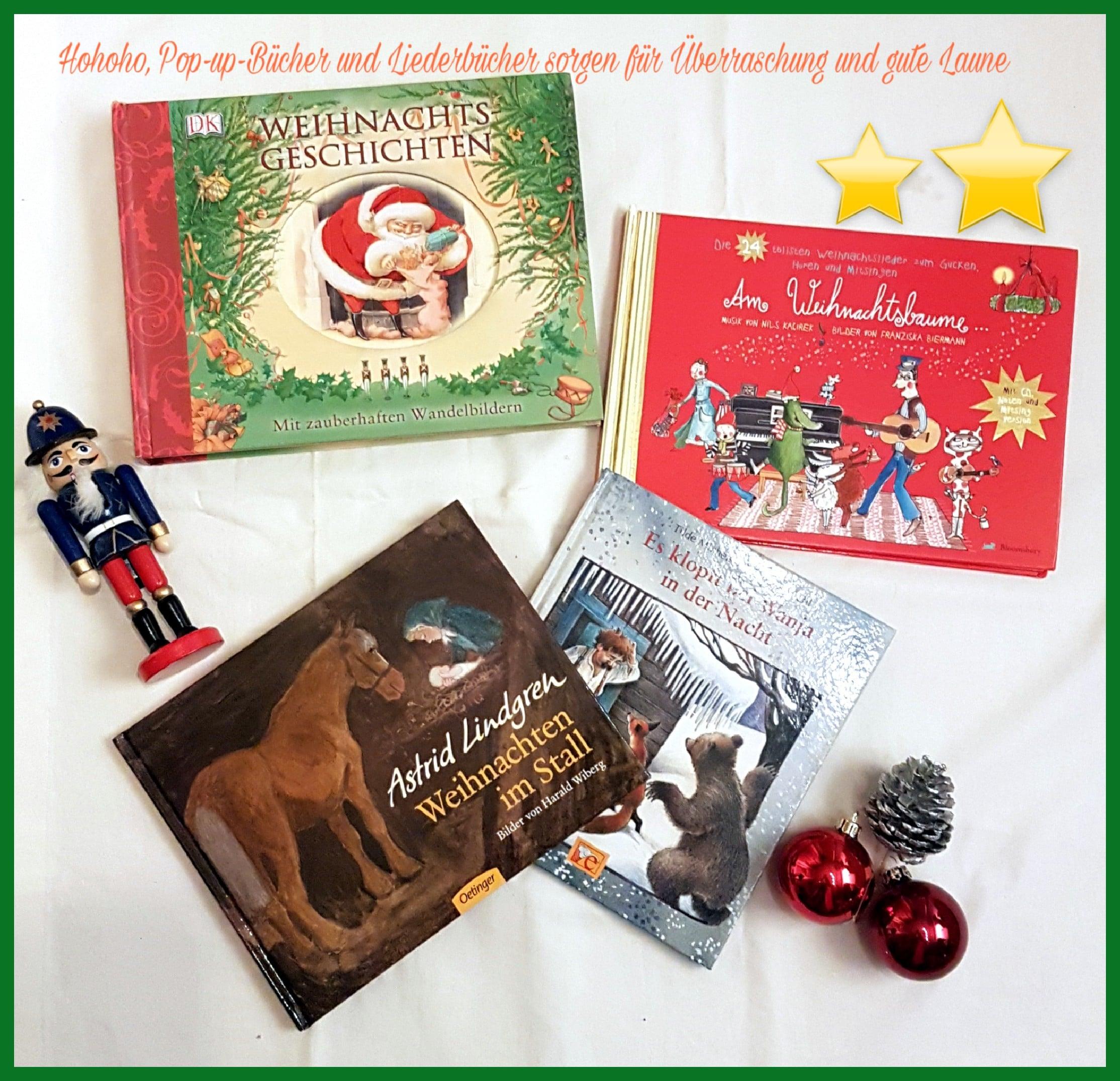 weihnachten, weihnachtsbücher, adventszeit, advent, weihnachtlich, winterzeit, winter, lesen, kinderbücher, bücher, vorlesen, liederbuch
