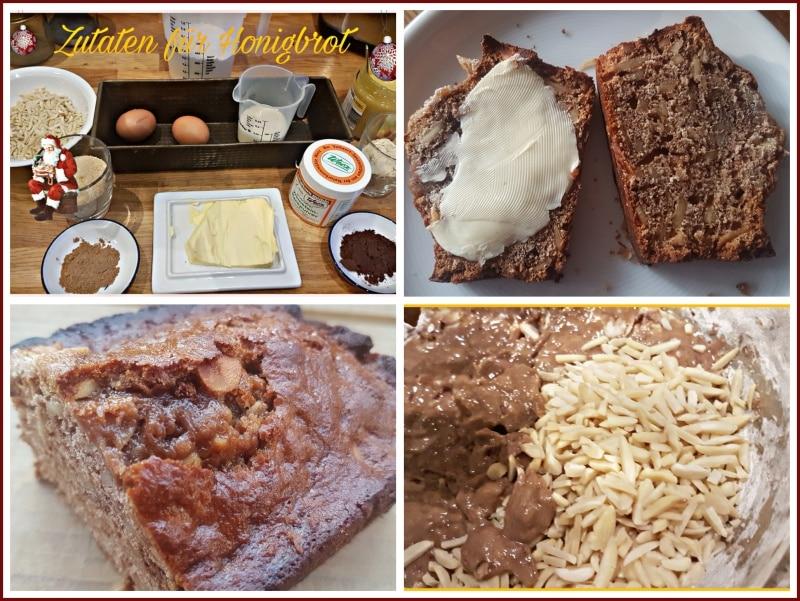 Weihnachtliches Honigbrot, backen, weihnachten, brot, lebkuchen, advent