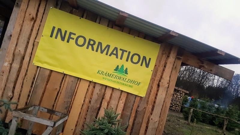 Weihnachtsbaum, Adventszeit, Advent, Weihnachten, Krämerwaldhof, Nordmanntanne, Baum selbst schlagen