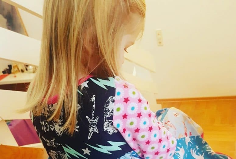 Kindermode Kinderkleidung Nähanleitung selbernähen Kleid
