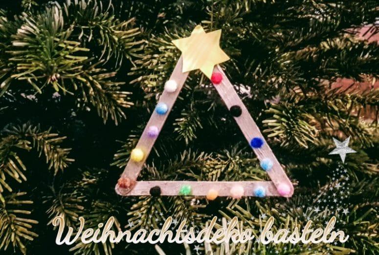 Weihnachtsbaumanhänger, Weihnachtsdeko, Weihnachtsschmuck, Weihnachtsbaum, Anhänger, Basteln mit Kindern, handgemacht, selbermachen, selbstgemacht, do it yourself, diy, christmas