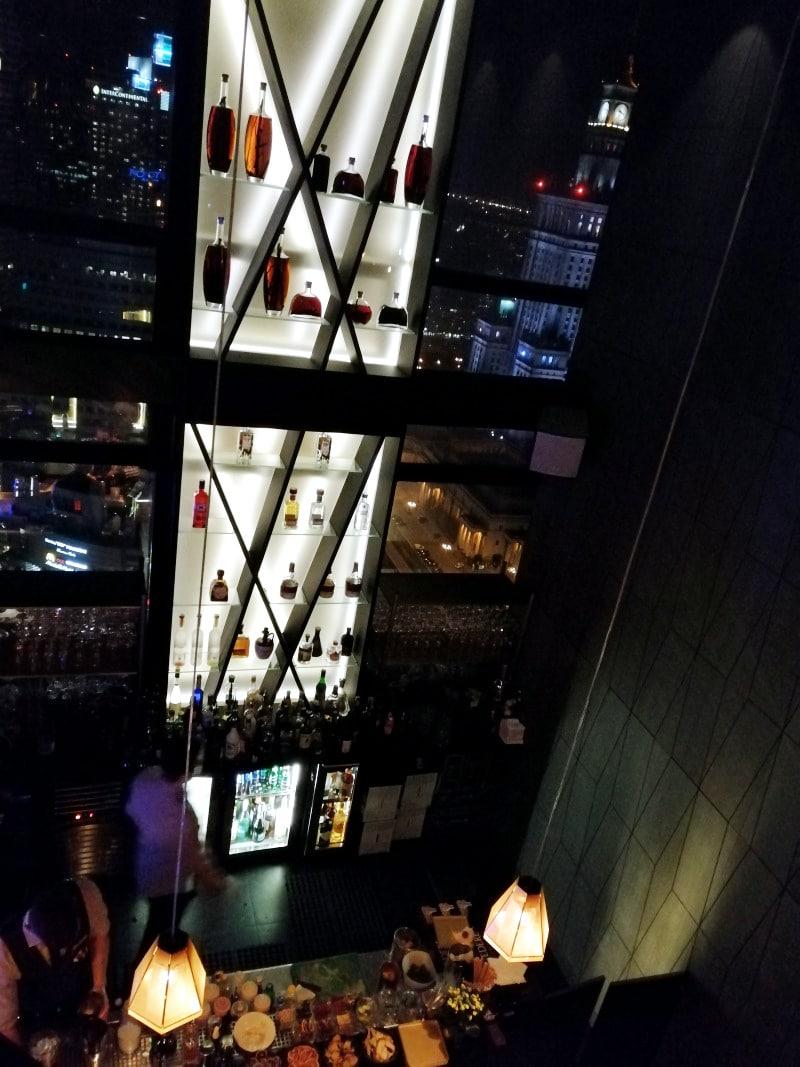 Warschau, Warsaw, Polen, Poland, Citytrip, Reisen, Urlaub, Ferien, Stadt, Wochenendtrip, Bar, Skybar, ausgehen, Panoramabar, Cocktails, Nighlife, Mariott Hotel, Sightseeing, Ausblick