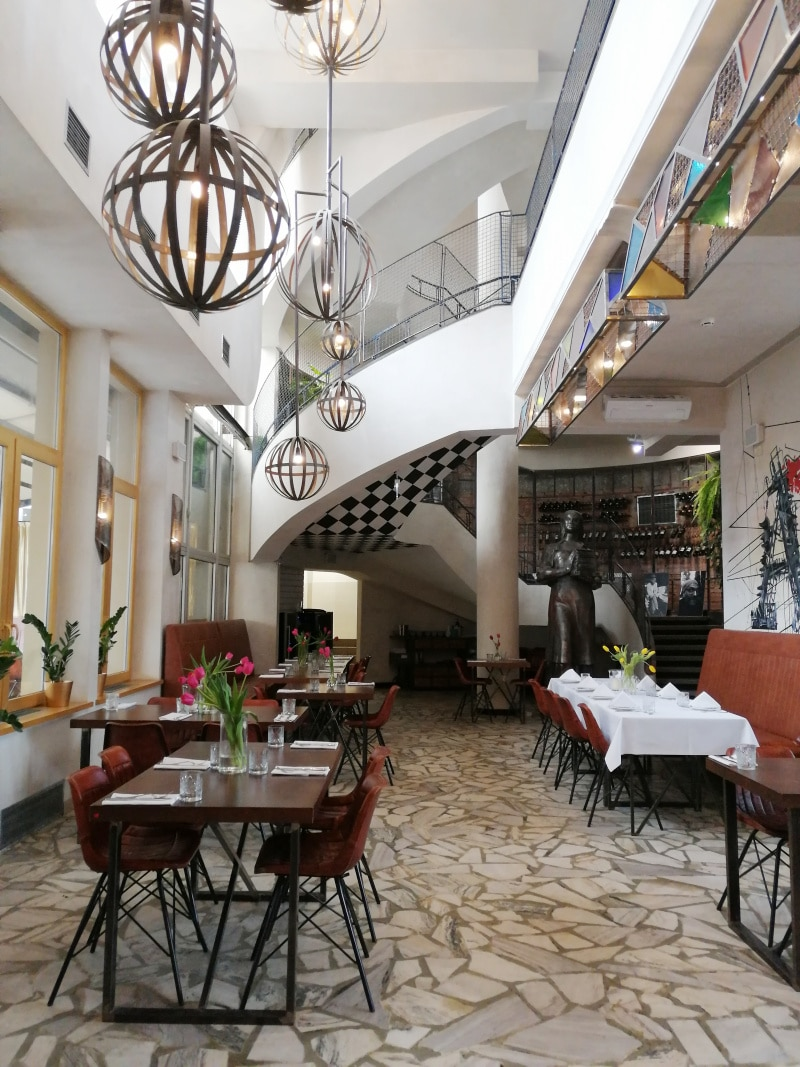 Warschau, Warsaw, Polen, Poland, Citytrip, Reisen, Urlaub, Ferien, Stadt, Wochenendtrip, Restaurant Drukarnia, essen gehen, Praga