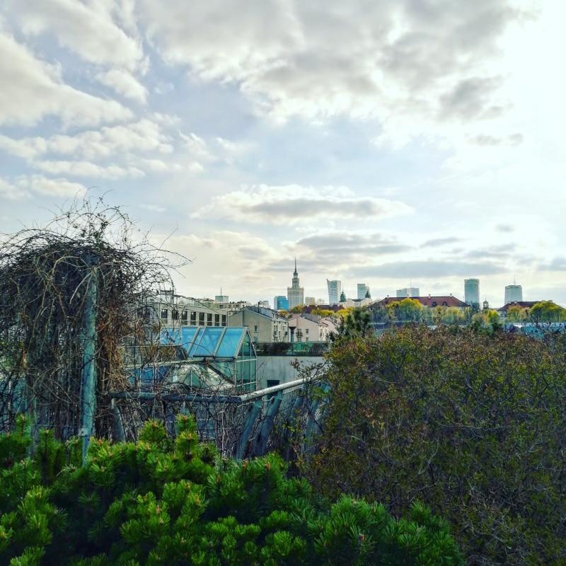 Warschau, Warsaw, Polen, Poland, Citytrip, Reisen, Urlaub, Ferien, Stadt, Wochenendtrip, Dachgarten der Universitätsbibliothek