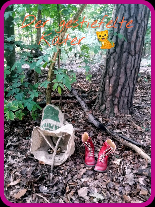 Märchenparcours, Kinderfest, Kindergeburtstag, Motto-Party, Märchen, Märchenspiel, Rätsel, Märchenrätsel, Märchenfiguren, Dekoration, Spielideen für Kinder, Kitafest, Märchenkultur, Wald, Spiele für draussen, Outdoor Spiele, spielen, rätseln